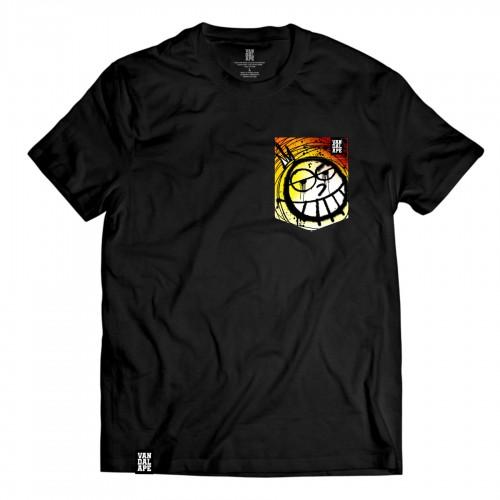 Tričko s vreckom krátky rukáv grafický dizajn Sunny Princess