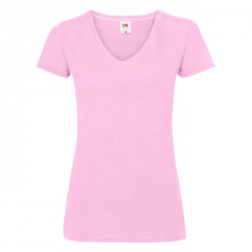 Veľkosť XL - Dámske tričko LADY-FIT V NECK V-WEIGHT T