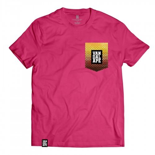 Veľkosť M - Tričko s vreckom krátky rukáv grafický dizajn VandalApe Pattern