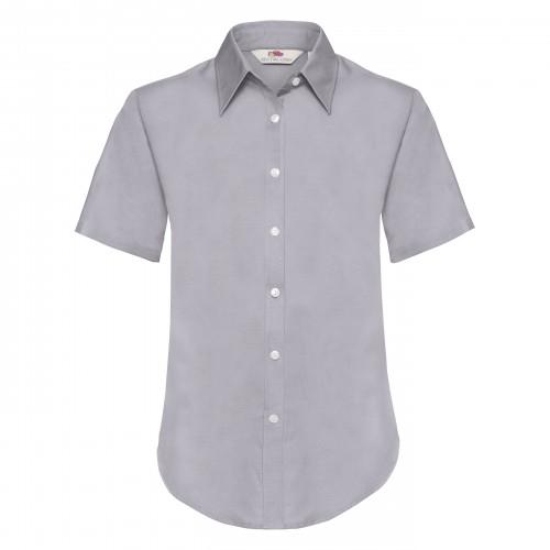 Dámska košeľa krátky rukáv LADY FIT S.SL OXFORD SHIRT